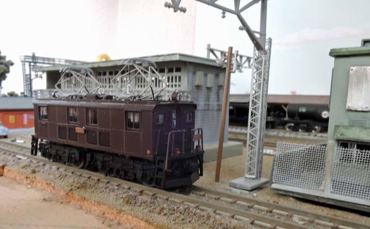 鉄道コレクションのED14から: 光...